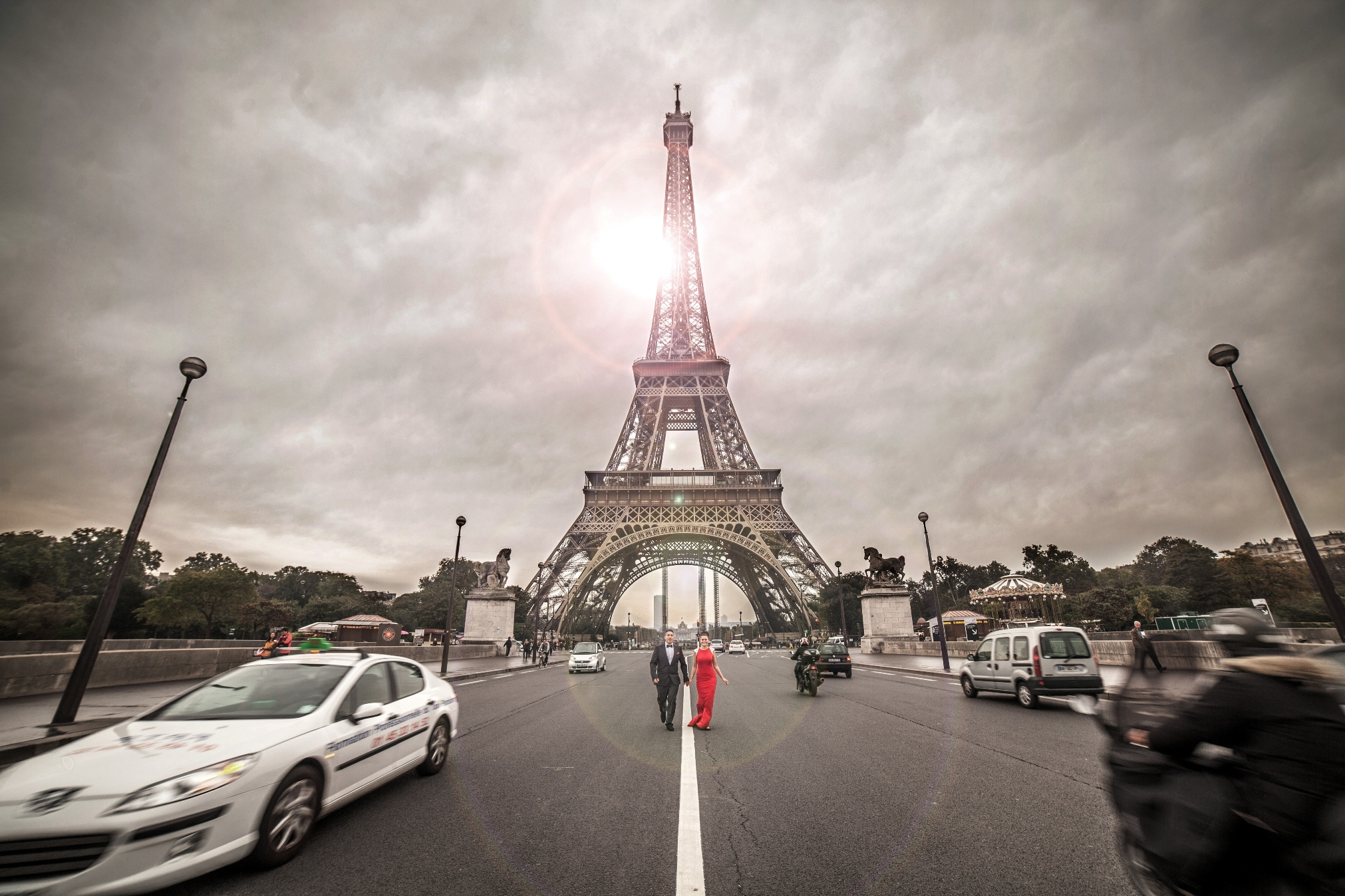 Flitterwochen Fotografen Paris