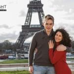 verliebtes paar paris shooting 150x150 Fotoshooting zum Osterwochenende in Paris
