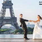 hochzeits fotograf in Paris eiffelturm 150x150 Frisch verheiratet gehts zum Hochzeits Fotoshooting nach Paris
