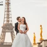 hochzeits fotoshooting paris eiffelturm 150x150 Frisch verheiratet gehts zum Hochzeits Fotoshooting nach Paris