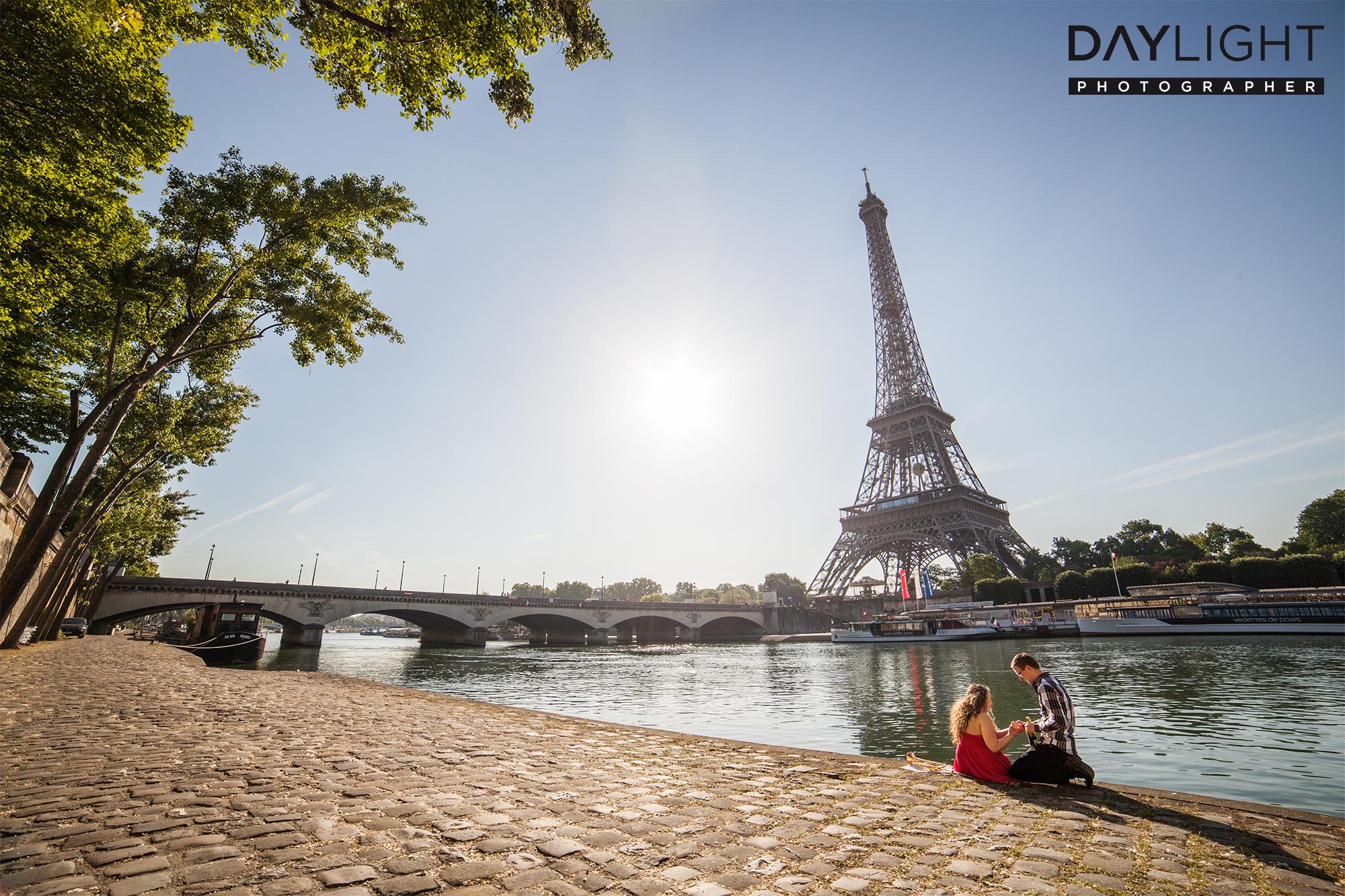 verlobung in paris am ufer der seine