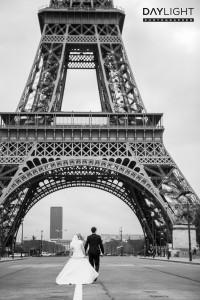 eiffelturm als Hochzeitsmotiv