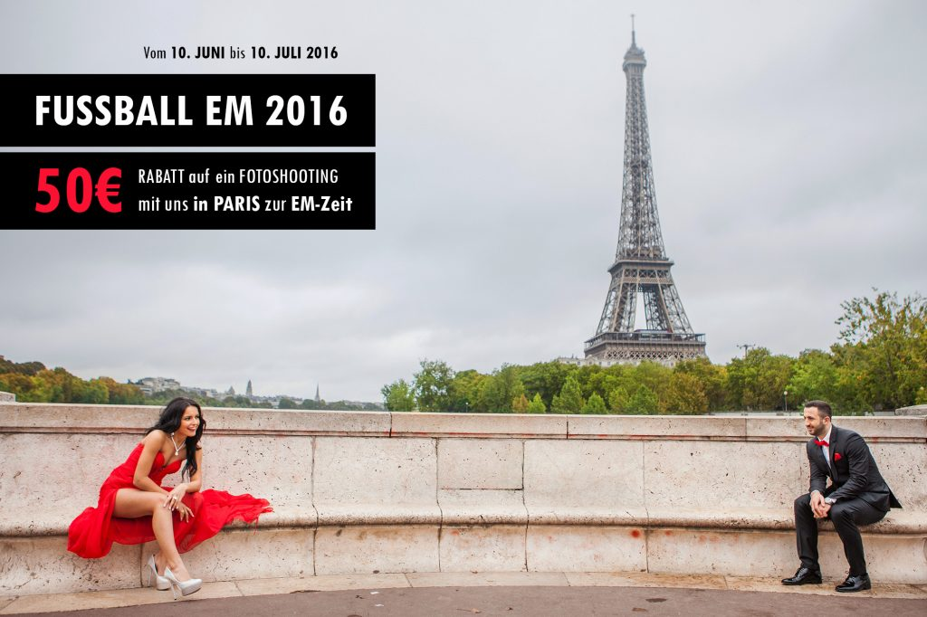 fotoshooting zur fussball EM 2016 in Frankreich