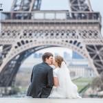 hochzeit in paris romantisch 150x150 Man nehme einen Eiffelturm, ein Hochzeitspaar und einen Hochzeitsfotografen